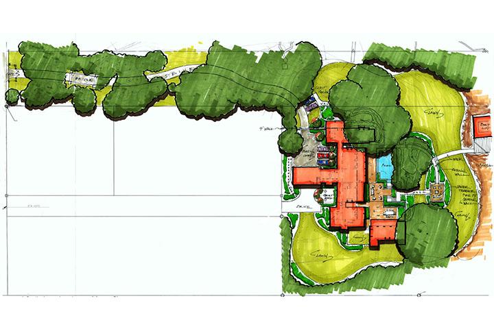 Residential Landscape Architecture Plan christian preus landscape architecture | residential landscape